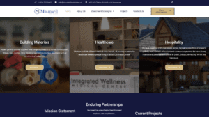 Maunsell Investment homepage