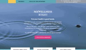 Mx Wellness by Nancy homepage