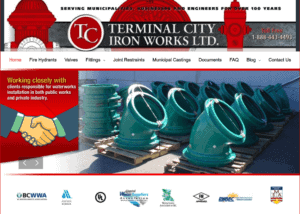 Terminal City Iron Works homepage